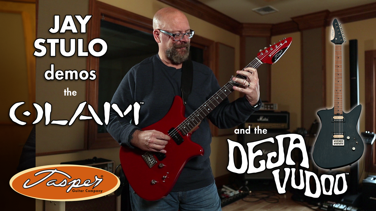 Jay Stulo demos the Olam and Deja VuDoo